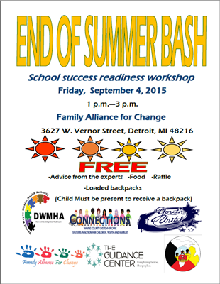 END OF SUMMER BASH - School Readiness Success